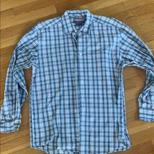 Vineyard vines whale shirt button down
